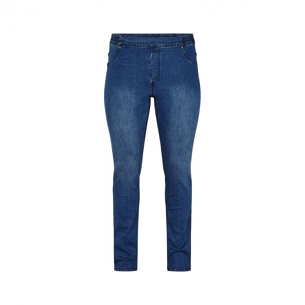 Adia Jeans Nice Elastische Band Middle Blue