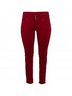 ADIA  Jeans  Skinny Stretch ROME Rood