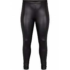 ADIA Leerlook Leggings Zwart