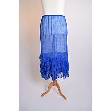 Amandine Petticoat Onderrok Royalblauw 1 (42/48)