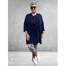 Only-M Blouse/Tuniek Roezel NAVY