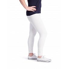 Ophilia Legging  Gerimpeld Pijp Off White