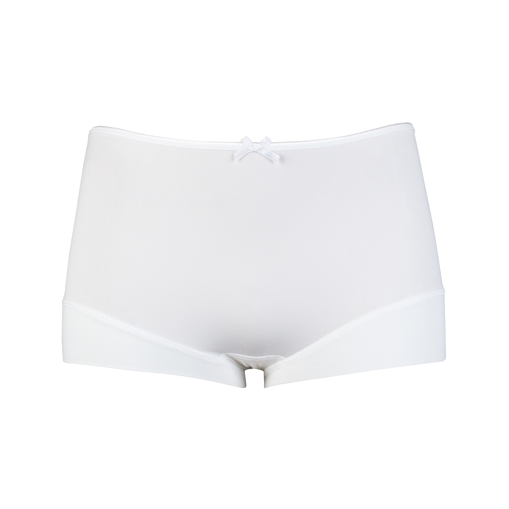 RJ Dames Short Pure Color wit