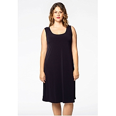 YOEK Basic Dress Mouwloos Dolce Navy