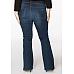 YOEK Jeans FLARE /Bootcut Dark Indigo