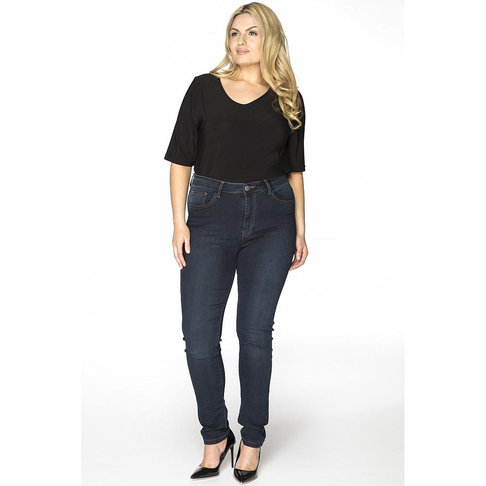 YOEK Jeans Skinny 5 Pocket Indigo Dark
